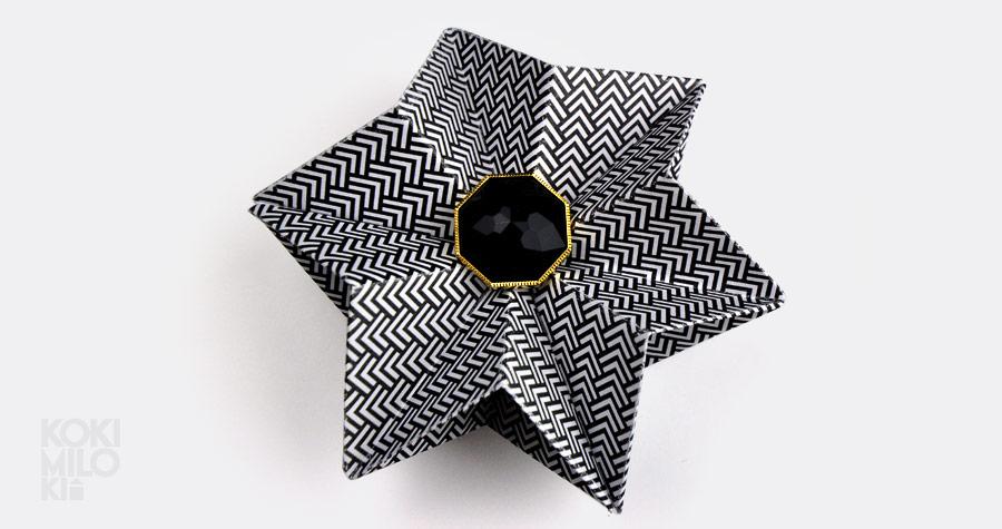 gwiazda origami