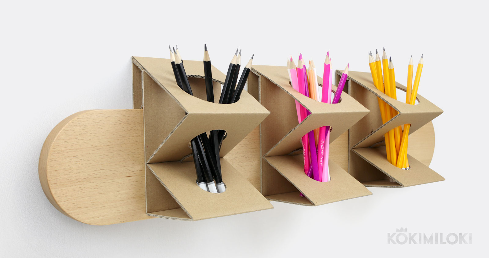 DIY Pencil Holder For Student Desks