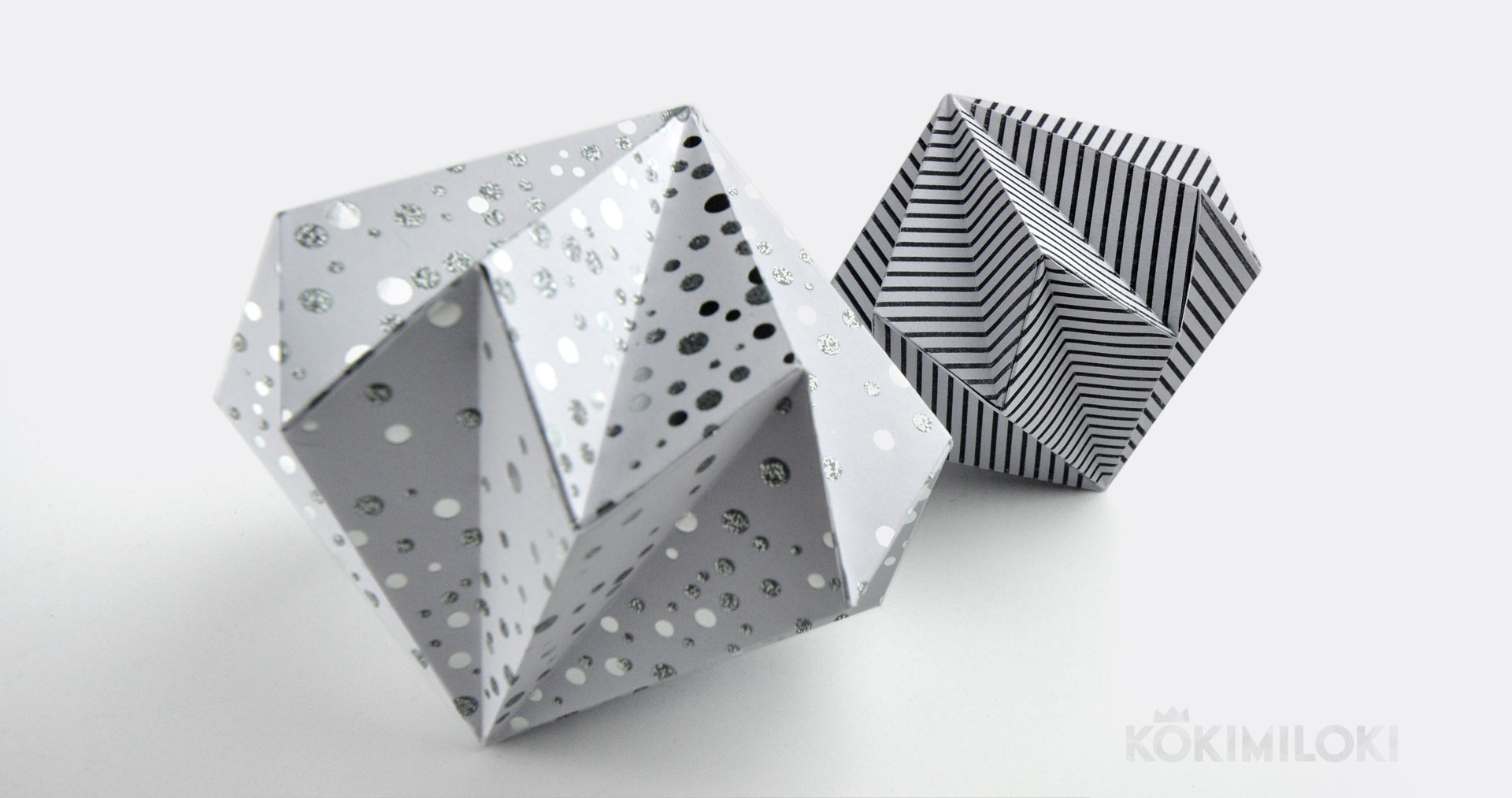 House decorating ideas - paper diamond