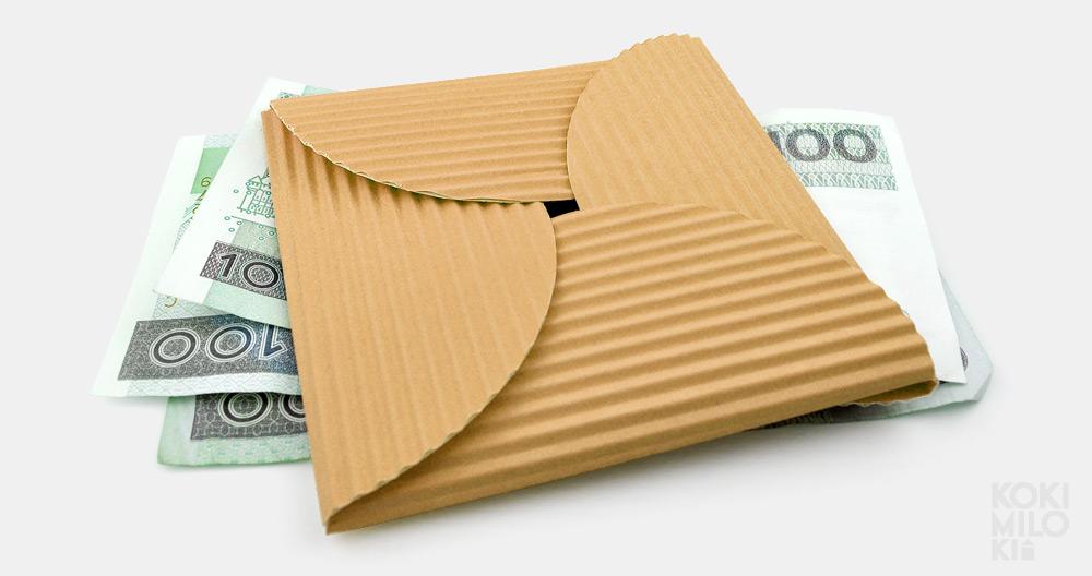 Tutorial - jak zapakować pieniądze na prezent