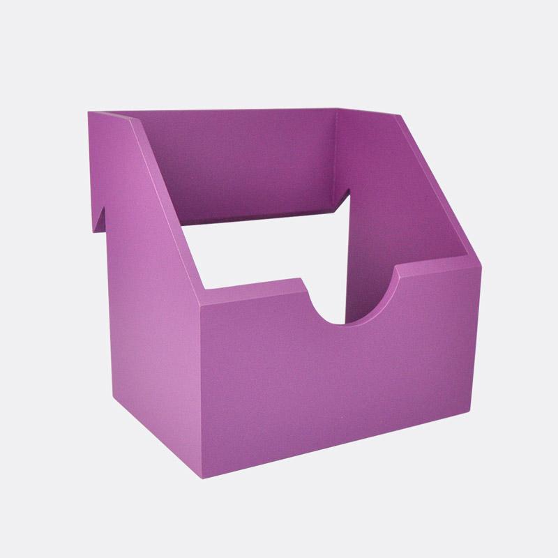 fiolet medium storage box for Kokimiloki wall-mounted system